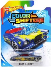 Hot Wheels Color Shifters zmieniający kolor Fish and Chips BHR15 BHR31