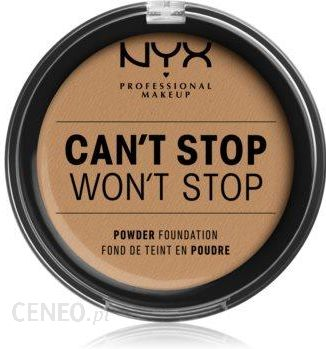 Nyx Professional Makeup Can T Stop Won T Stop Podklad W Pudrze Odcien 15 Caramel 10 7g Opinie I Ceny Na Ceneo Pl