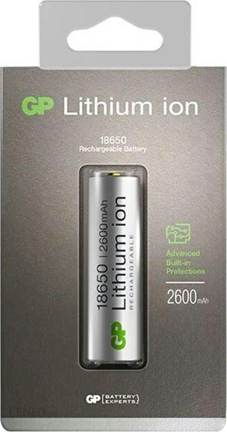 GP GP Lithium ion Accu 18650 2600mAh 3,7V 14018650B1