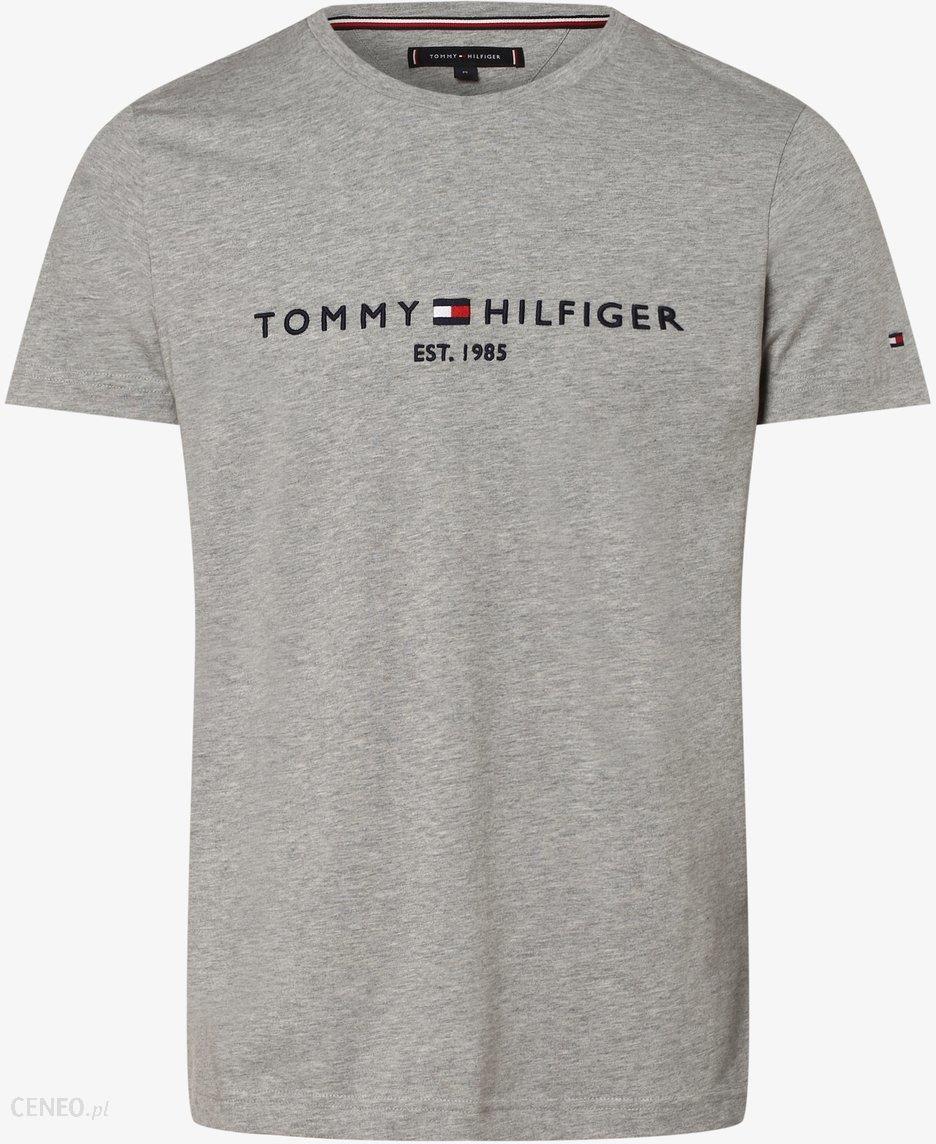 Tommy Hilfiger T shirt męski, szary Ceny i opinie Ceneo.pl