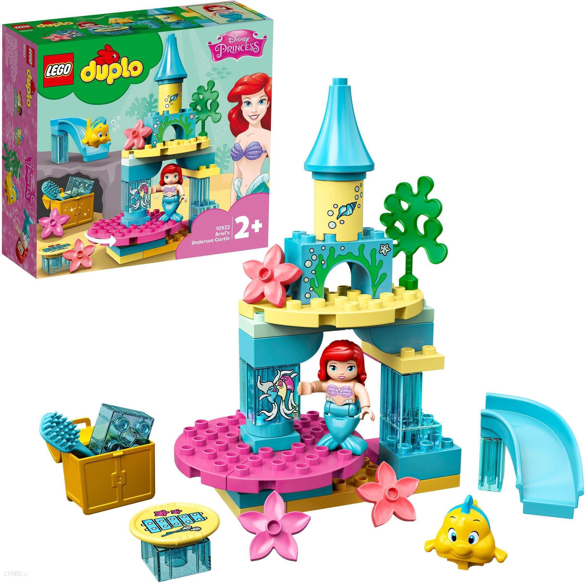 lego duplo dla dziewczynki podwodny świat arielki