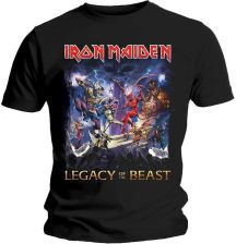 Iron Maiden Mens Tee Legacy Of The Beast L