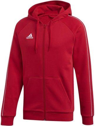 adidas beckenbauer bluza czerwona
