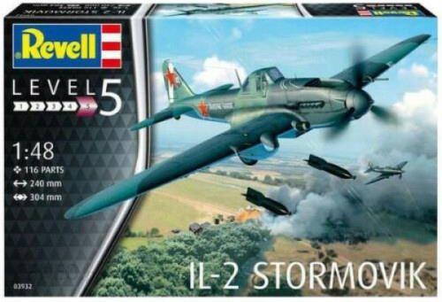 Revell Model Samolotu Il-2 Stormovik 1:48