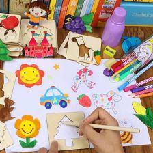 100 sztuk dla dzieci zabawki rysunek zabawki kolorowanki