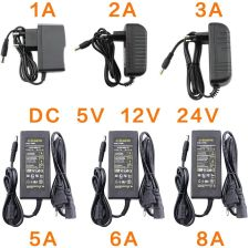 AliExpress  AC DC 12V 5V 6V 8V 9V 10V 12V 13V 14V 15V 24V Adapter do zasilacza 1A 2A 3A 5A 6A 8A 220V do 12V