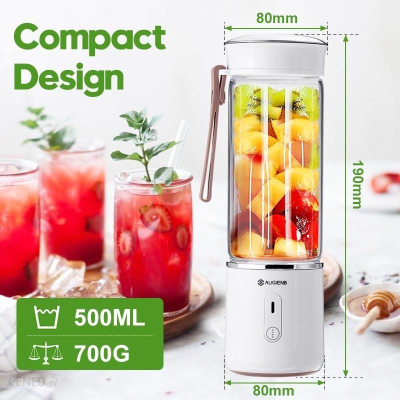 AliExpress AUGIENB 500ml elektryczna sokowirówka szkło Mini