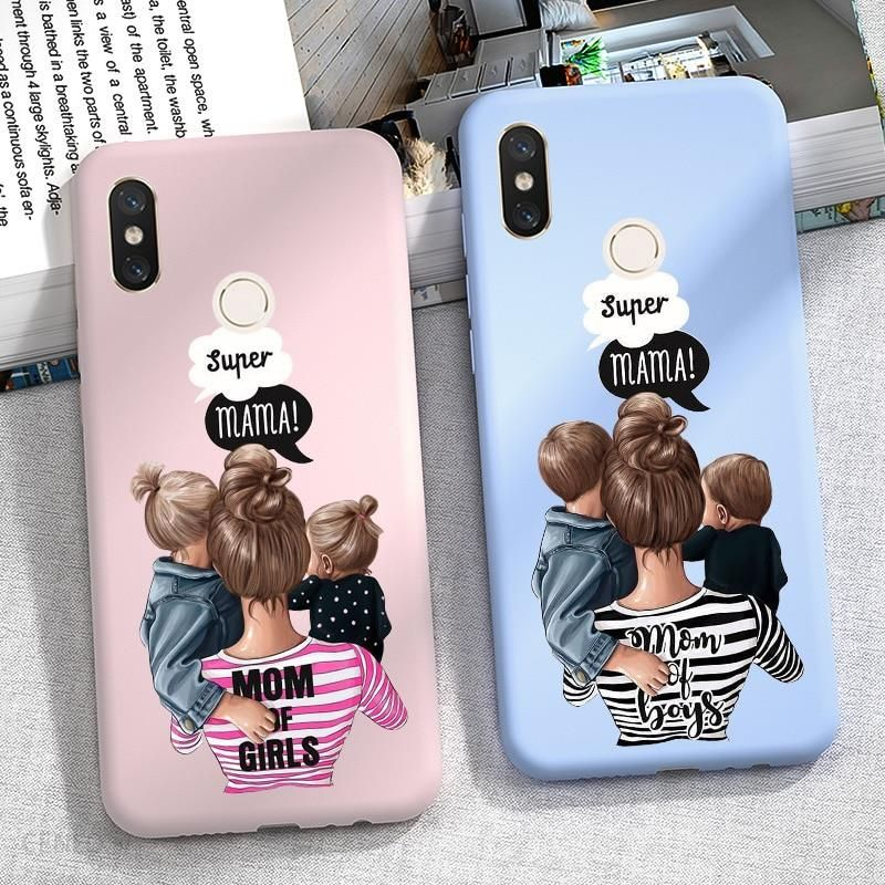Aliexpress Dziecko Super Mama Etui Na Telefon Dla Xiaomi Redmi Uwaga 8 Pro 8 T 8 T 9 S 9 9 S 7 6 5 Plus 5a 6a Ceneo Pl