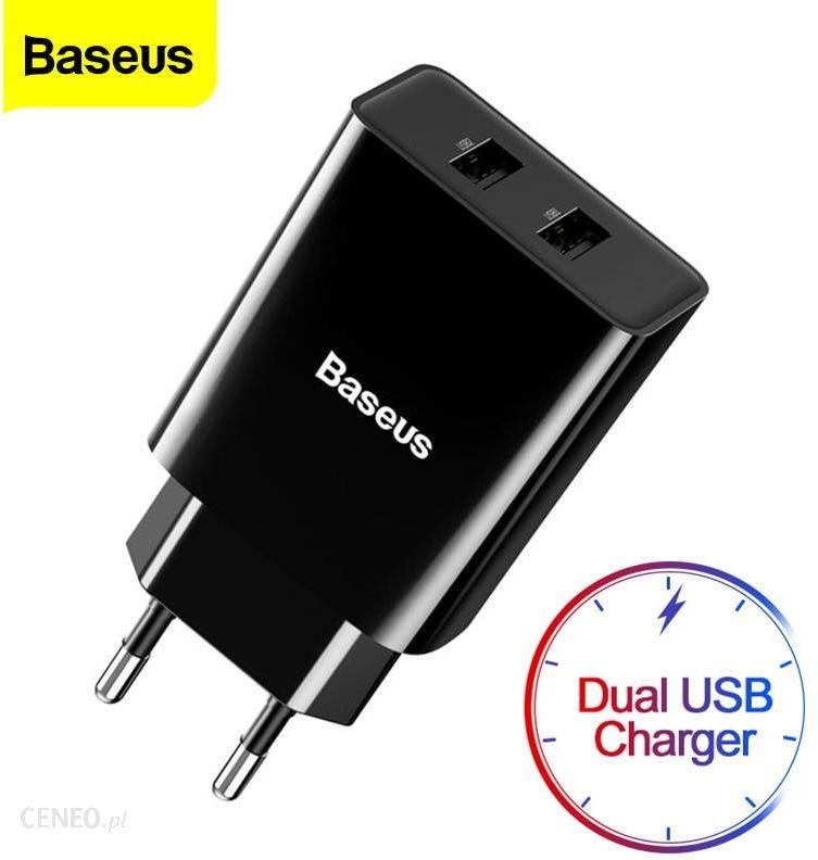 AliExpress Baseus Mini podwójna ładowarka USB ue wtyczka