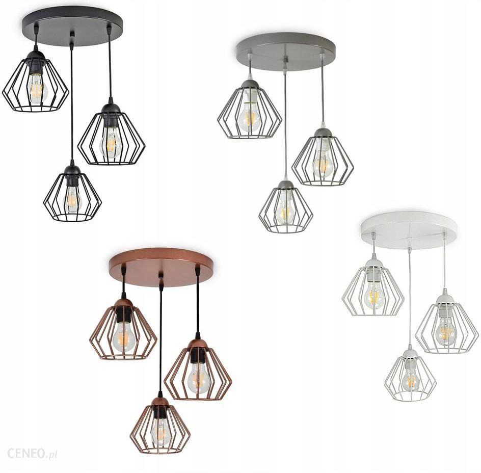 Fabryka Lamp Luxolar Lampa Wisząca Żyrandol Brylant Led
