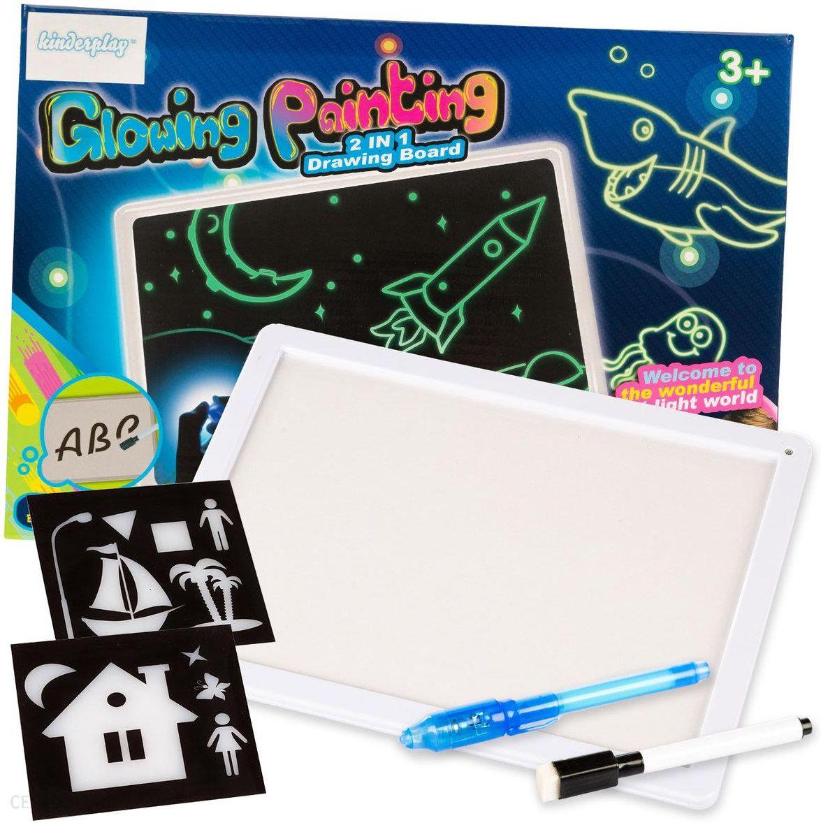 prezent dla 8-latka tablica do rysowania światlłem