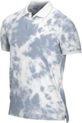 Nike Golf Fog Wash Mens Polo Shirt White/White XL - Ceny i opinie T-shirty i koszulki męskie YWZC