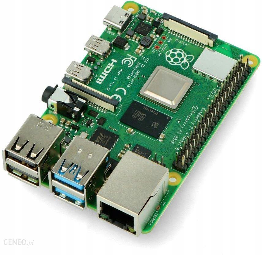Mikrokontroler Raspberry Pi 4b Wifi Dualband Bt 2gb Ram 1 5ghz 9361594424 Opinie I Ceny Na Ceneo Pl