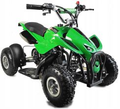 Mini Quad ATV 49 cc JUNIOR ALUMINIOWE FELGI DWUSUW