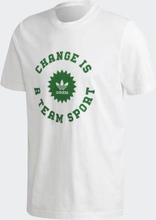 Adidas Change Is a Team Sport Circle Tee A9742 - Ceny i opinie T-shirty i koszulki męskie KOGX