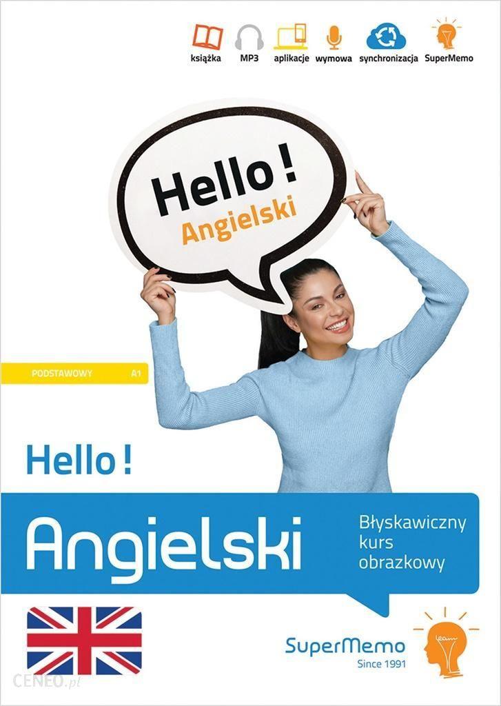 Nauka Angielskiego Hello Angielski Blyskawiczny Kurs Obrazkowy A1 Ceny I Opinie Ceneo Pl