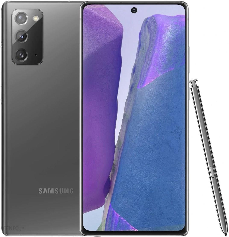 Samsung Galaxy Note 20 Sm N980 8 256gb Szary Cena Opinie Na Ceneo Pl