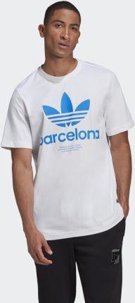 Adidas City Trefoil Barcelona Tee GT7418 - Ceny i opinie T-shirty i koszulki męskie JVUZ