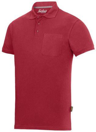 Snickers Workwear Polo (Kolor Chili) - Ceny i opinie T-shirty i koszulki męskie KKZA