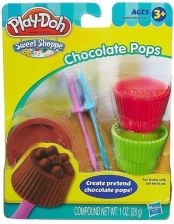Hasbro Play-Doh Sweet Shoppe - Czekoladowe lizaki Chocolate Pops 49685