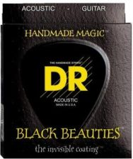 Struny Dr Black Beauties Coated Acoustic Phosphor Bronze 11-50 (Bka-11)
