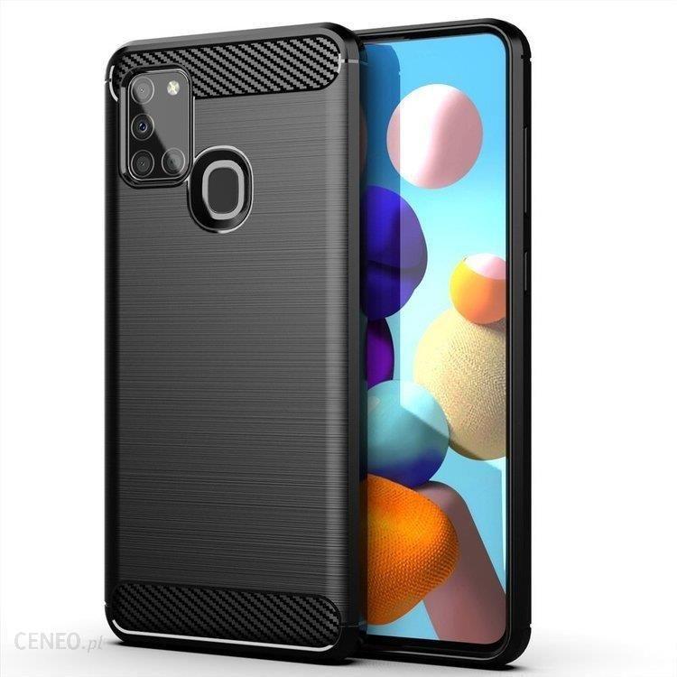 Carbon Case Elastyczne Etui Pokrowiec Samsung Galaxy A21s Czarny Etui Na Telefon Ceny I Opinie Ceneo Pl