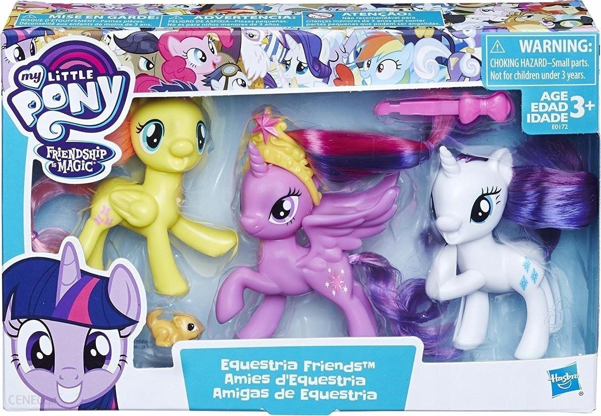 Hasbro My Little Pony Zestaw Przyjaciolek E0172 Ceny I Opinie Ceneo Pl