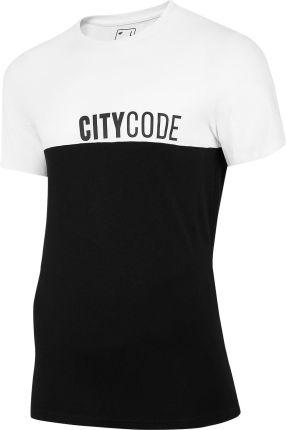4F Koszulka T-Shirt Tsm014 Głęboka Czerń (H4L20-Tsm014-20S) - Ceny i opinie T-shirty i koszulki męskie CZKB