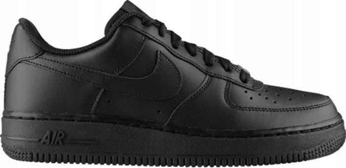 Buty Nike Air Force 1 (Gs) 314192 009 Czarne 38