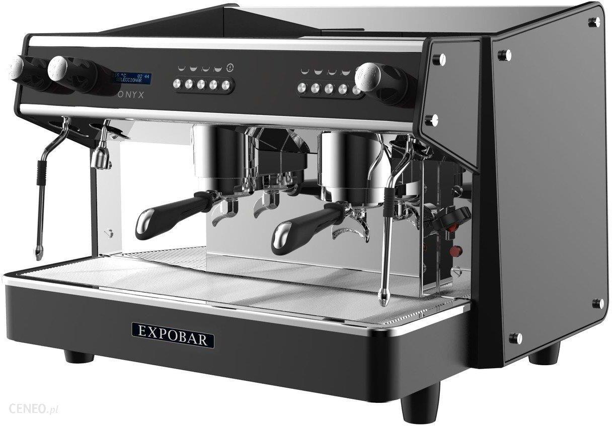 Resto Quality Profesjonalny Ekspres Do Kawy 2 Kolbowy Onyx 2Gr