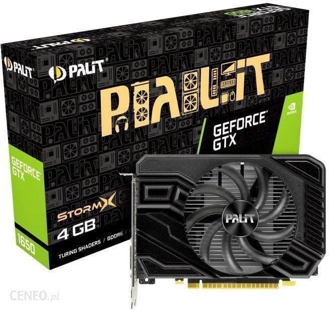 """Palit VGA GTX 1650 StormX D6 4GB GDDR5 128bit PCIe 3.0"" (NE61650018G1166F)"