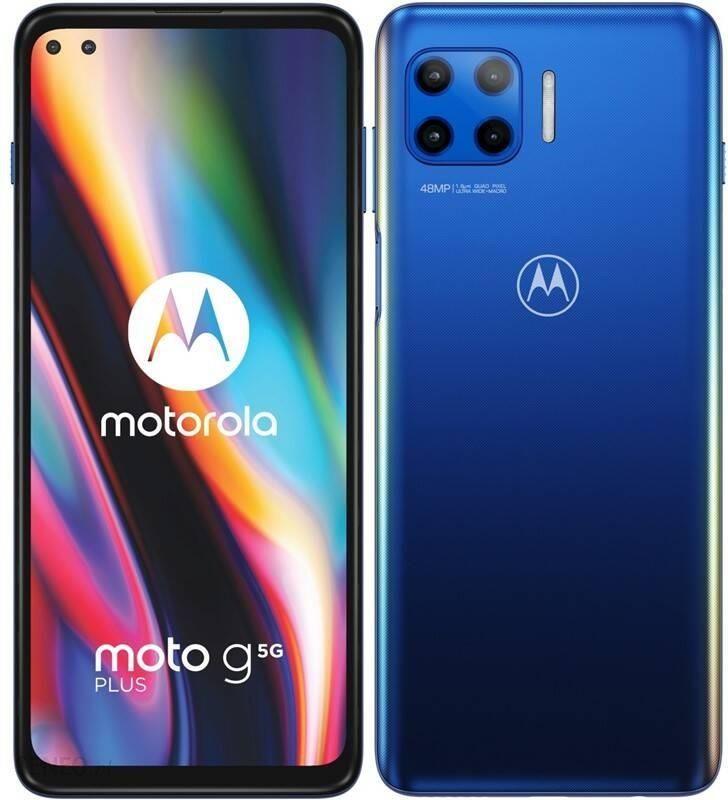 Motorola Moto G 5g Plus 4 64gb Niebieski Cena Opinie Na Ceneo Pl