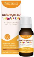 Doctor Life Laktoferyna bLF Infants + Kids 100 mg krople 10 ml