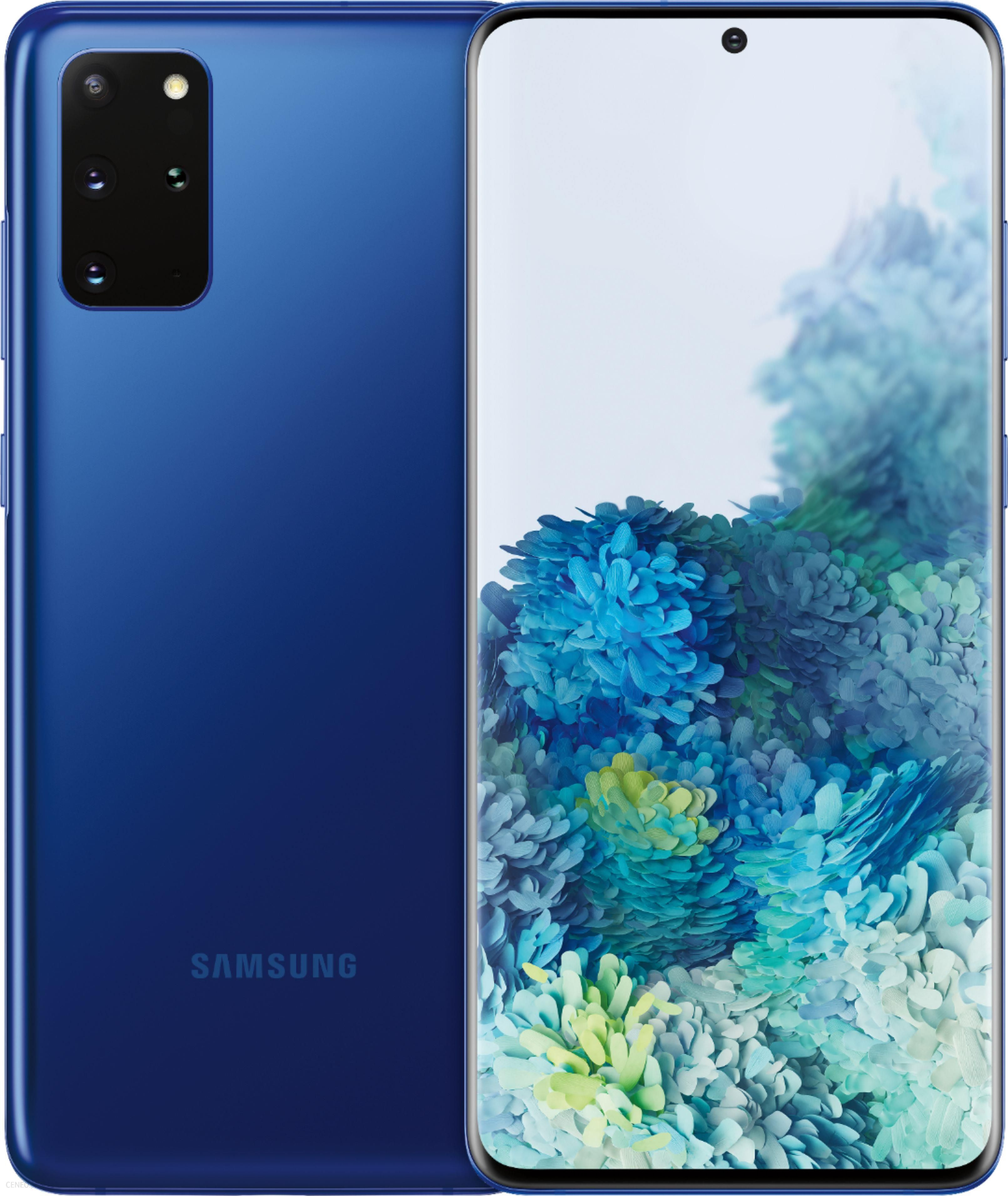 Samsung Galaxy S20 Plus Sm G985 8 128gb Ciemnoniebieski Cena Opinie Na Ceneo Pl