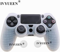 """IVYUEEN 25 COLORS ANTI-SLIP SILICONE COVER SKIN CASE FOR SONY PLAYSTATION DUALSHOCK 4 PS4 DS4 PRO SLIM CONTROLLER & STICK GRIP"""
