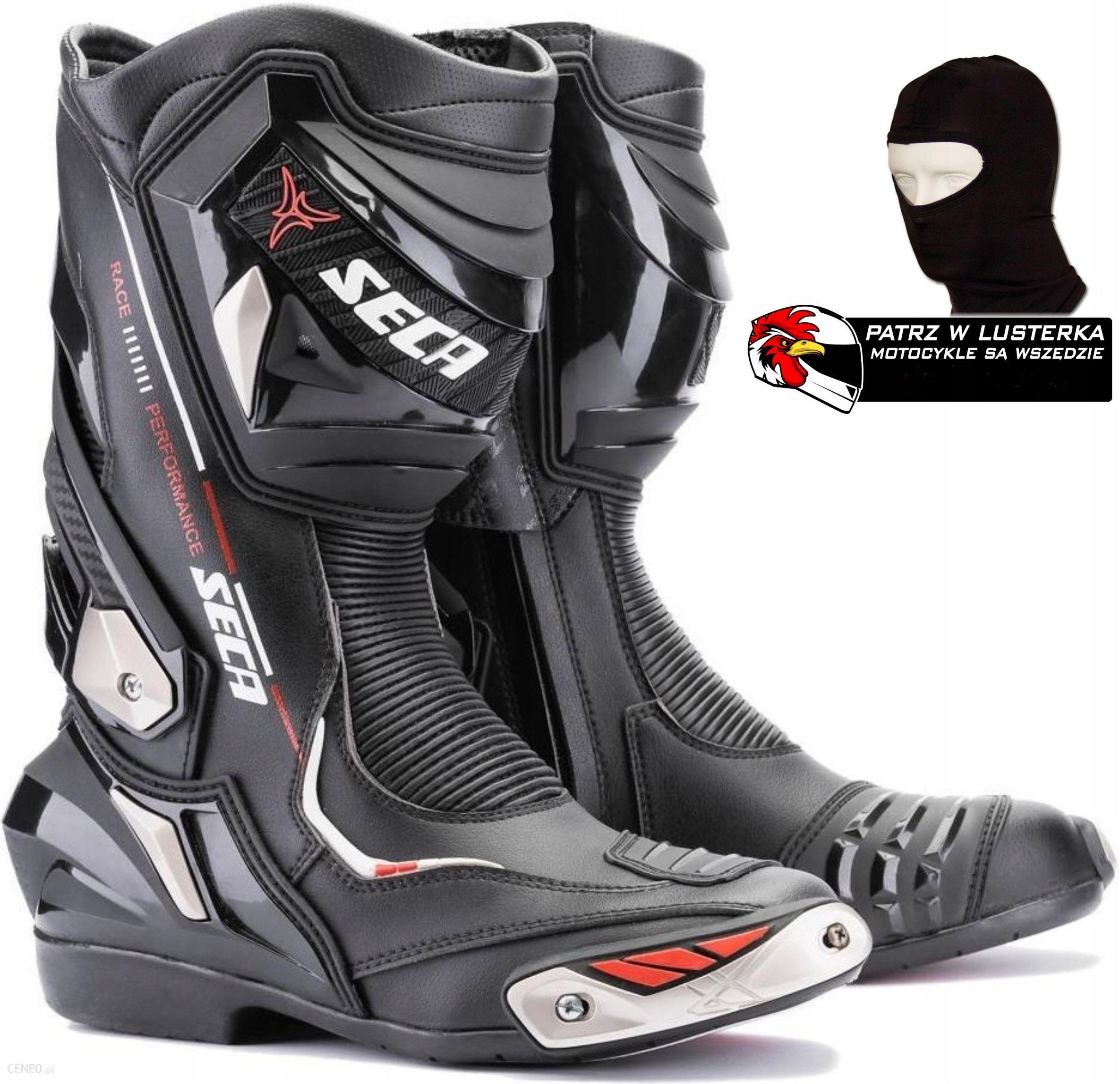 Buty Motocyklowe Buty Seca Race Tech Ii Black Czarny Gratisy Opinie I Ceny Na Ceneo Pl