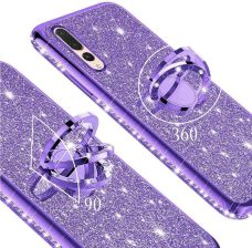 XGSM Etui do Huawei P20 Pro ERBORD Bling Purple Fioletowy
