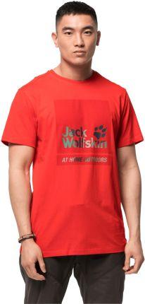 T-shirt męski 365 HIDEAWAY T M fiery red - Ceny i opinie T-shirty i koszulki męskie DWUL