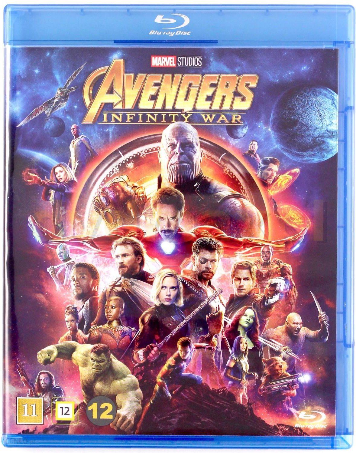 Film Blu Ray Avengers Infinity War Avengers Wojna Bez Granic Blu Ray Ceny I Opinie Ceneo Pl