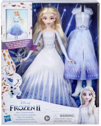 Lalka Hasbro Disney Kraina Lodu 2 Lalka Elsa Magiczna Przemiana E9420 Ceny I Opinie Ceneo Pl