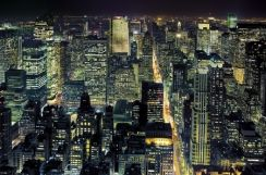 From the Empire State Building - fototapeta