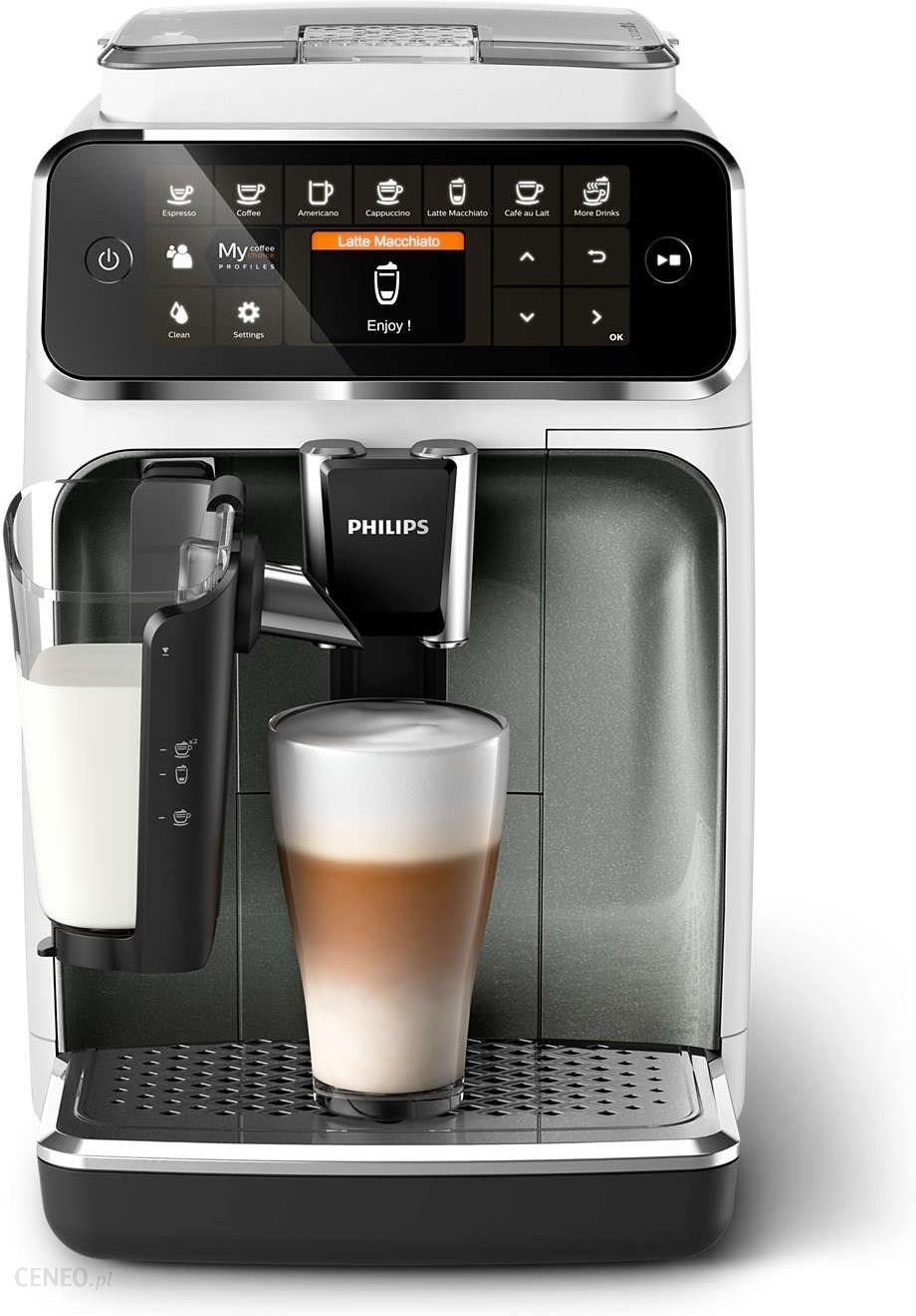 Philips 4300 LatteGo EP4343/70 biały