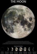 Księżyc Plakat Kosmos