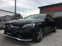 MERCEDES C 300 AMG 4X4 MATIC PANORAMA 9-G TRONIC