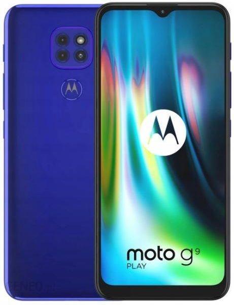Motorola Moto G9 Play 4 64gb Niebieski Cena Opinie Na Ceneo Pl