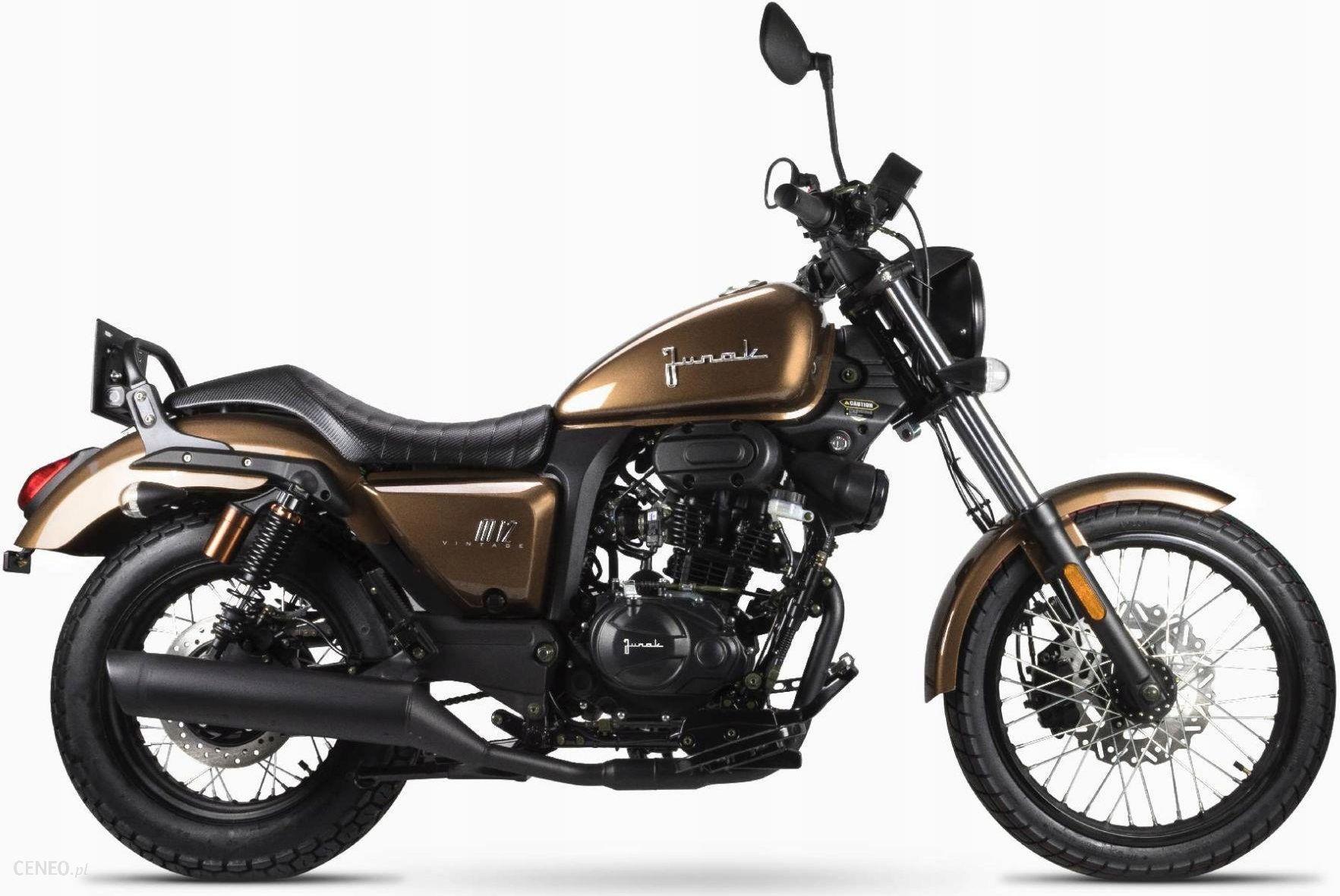 Motocykl Junak M12 Vintage 125 Cm3 Opinie I Ceny Na Ceneo Pl