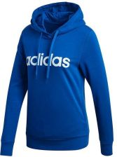 Bluza Damska Essentials Linear Over Head Hoodie Adidas Niebieska Ceny I Opinie Ceneo Pl