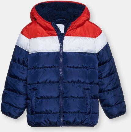 Hatley kurtka zimowa chłopięca 134140 niebieski Ceny i