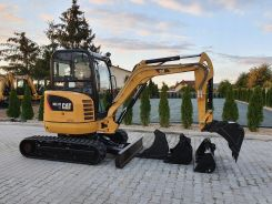 MINIKOPARKA CAT CATERPILLAR 302.7 D CR 2017R JCB