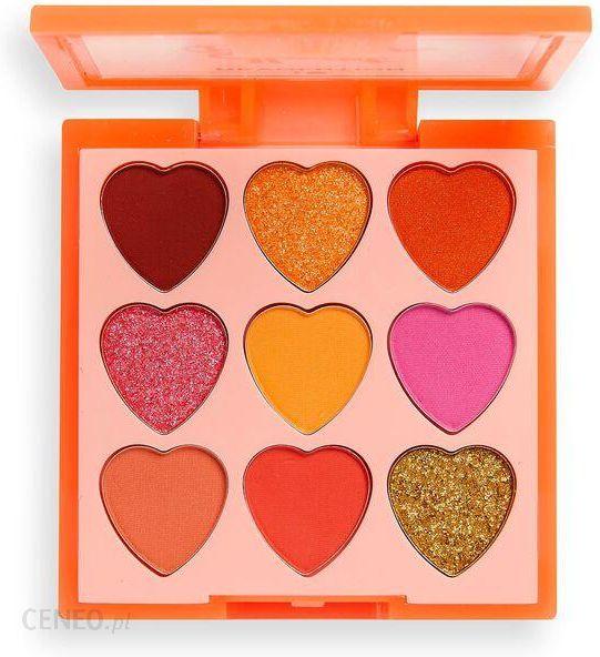 Makeup Revolution Heart Breakers Paleta Cieni Fiery